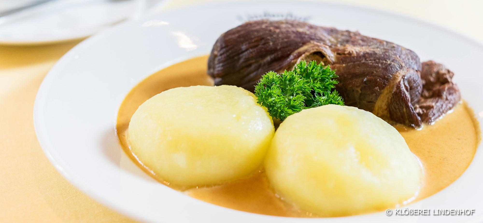 roulade, klöße, sauerbraten, fränkisches essen, gasthaus, neustadt, coburg