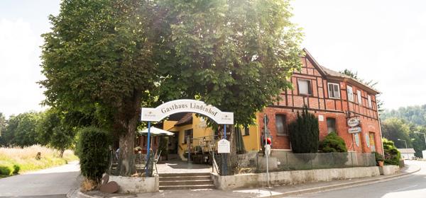 Gasthaus Lindenhof in Neustadt bei Coburg von Außen